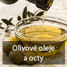 olivove oleje a octy