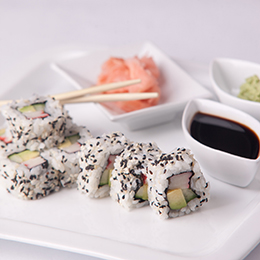 california maki sushi recept